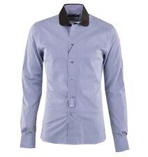 DOLCE & GABBANA SICILIA Gestreiftes Hemd Khaki Weiß Striped Shirt White 03696