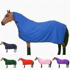 Horse Pony Soft Fleece Contoured Cooler Quick Grip Fasteners Wicks Moisture