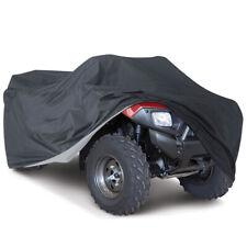 XL XXL XXXL Quad ATV Cover Abdeckplane Abdeckung Faltgarage Wasserdicht Schwarz