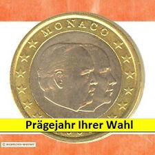 Kursmünzen Monaco: 1 Euro Münze 20XX Fürst Rainier und Prinz Albert Kursmünze