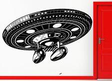 Wall Stickers Vinyl Decal Space Alliens Spaceship Battleship Cool Decor (z2363)