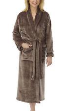 i-Smalls Women's Ultra Soft Warm Cosy Winter Long Dressing Gown Loungewear