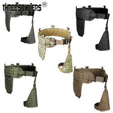 Tactical MOLLE Drop Leg Platform holder Belt Waist Girdle Military Waistband