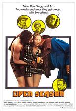 Open Season - 1974 - Movie Poster