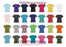 Gildan Softstyle Femme T-shirt-femme Tops-tailles S à XXL-Manches courtes