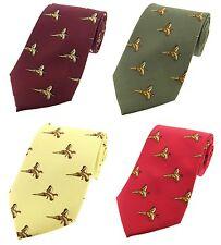Flying Pheasants Country Silk Ties