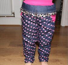NUOVO Ragazzi Ragazze Abiti Jeans Kids Denim Stretch Straight Pants Pantaloni 2-6y UK