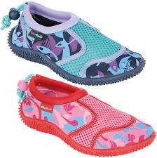 filles URBAN BEACH Aqua Chaussettes UK 5 - 12 enfants Camouflage Chaussures