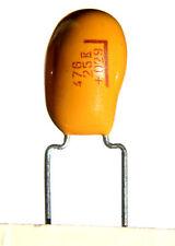 6 pcs Tantalum Radial Capacitor 47uf 25v  10% K NEW