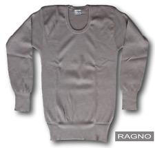 RAGNO Camiseta,Camiseta íntimo Manga Larga,cuello redondo Hombre 100% Pura Lana