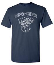 SHOVELHEAD Engine T-SHIRT - Harley Davidson Biker