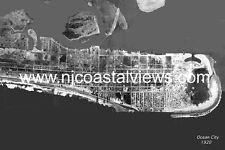 Ocean City NJ Unique Aerial Photo Prints 1920, 1933, 1944 & 1962