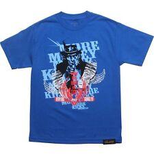 More Money More Kicks Uncle Sam Tee (Royal) Hip Hop Urban Street wear
