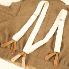 Elastic White Braces Replica British WW2 BE467