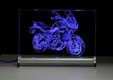 LED Leuchtschild graviert ist  MT 09 Tracer 2015 Yama Motorrad bike