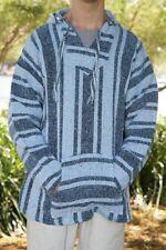Baja Hoodie from Mexico. Genuine Unisex Drug Rug Pullover Size S - XXXL