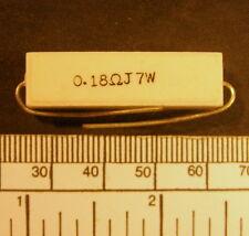 RESISTOR - CERAMIC WIRE WOUND - 0,18 OHM 7w