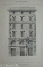 ARCHITETTURA_ROMA_CASA PISANI_ARCHITETTO PISTRUCCI_1890