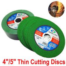 "4"" 5"" Thin Cutting Discs Wheel Angle Grinder Cut-Off Grinding Steel Metal Tool"
