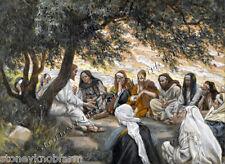 Jesus Exhortation to Apostles ~ Religious ~ Counted Cross Stitch Pattern
