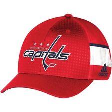 Washington Capitals Men's adidas Red 2017 Draft Structured Flex Hat