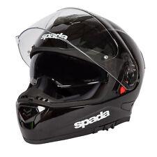 Spada RP One Solid Full Face DVS Motorbike Motorcycle Helmet Pinlock Gloss Black