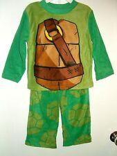 Teenage Mutant Ninja Turtles TNT Fleece Pajamas Size's 4 - 6 - 8 -10 NWT