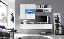 Parete Attrezzata Primo H Bianco Mobile Porta TV da Soggiorno Moderno Laccato