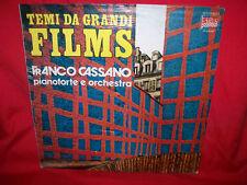 CASSANO plays LAI LEGRAND NICOLAI OST LP 1970s Italy MINT