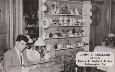 E4932 PA, Zelienople Bessie Mollard Antiques Postcard