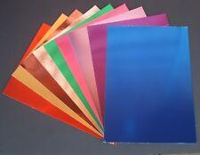 5 x A4 Quality Mirror Card  (Foiled Card for Diecutting, Matting & Layering)