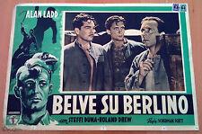 BELVE SU BERLINO fotobusta poster affiche Alan Ladd Beasts of Berlin Nazism P24