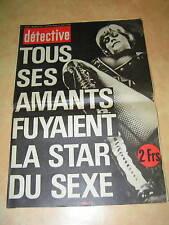 Détective 1977 ANZIN LA BRèDE RECY SAINT JUST RAMBERT