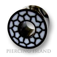 6mm / 8mm / 10mm / 12mm / 14mm HORN Bone Flesh Tunnel Ear Plug Ohr Piercing 222