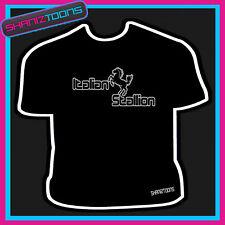 Italiano Semental Rocky Retro Cool lema Camiseta