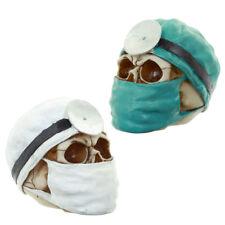 Totenkopf Doktor Chirurg Schädel Gothic Skull Dekoration Larp Mystik Deko NEU