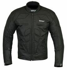 Bangla Motorrad Jacke Cordura Textil Motorradjacke kurz schwarz S - XXXL
