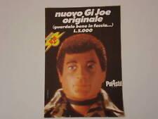 advertising Pubblicità 1975 GI JOE POLISTIL