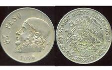 MEXIQUE 1 peso 1974