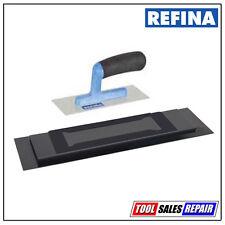 Refina Plaziflex Plastic Skimming Trowel - Foam Back - Lightweight Handle