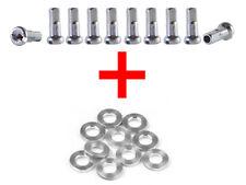 Kit de 10 écrous de rayon + 10 rondelles vélo vtt jante réparation roue moyeu