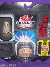 BAKUGAN Gundalian Battle Gear SILVER ROCK HAMMER Original SEALED 2009