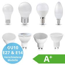 E27 E14 GU10 LED Lampe Birne Kerze Leuchtmittel Glühlampe warmweiß Licht kalt