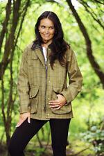 Ladies Derby Tweed Quilted Country Crompton Jacket, Coat