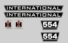 IHC Mc Cormick Traktor Aufkleber international 554 Emblem