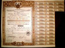 Material y Construcciones (Spain) Share certificate1958
