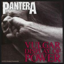 PANTERA - Vulgar display of power Patch Aufnäher 10x9cm