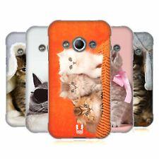 Coque ARRIERE HEAD CASE en gel souple chats pour Samsung Galaxy Xcover 3