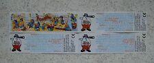 """7 verschiedene internationale BPZ """"Los Pappagalos"""" 2000 - 2002 ZUR AUSWAHL!!!"""