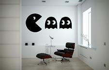 Pacman Fantôme Rétro Gamer Cool Enfants Adultes emblématique Applique Murale Autocollant O54